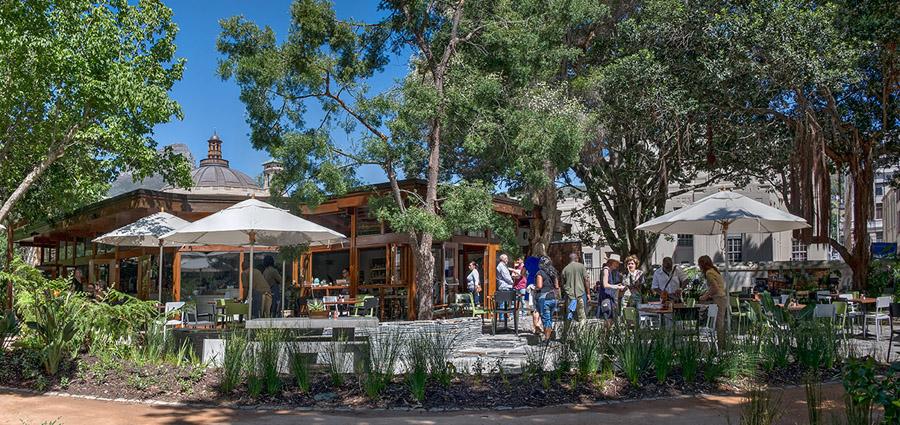 Restaurants in Kapstadt Companys Garden